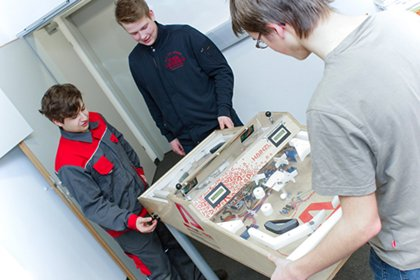 HAINZL offers students insights into the world of industry